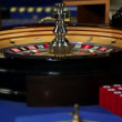 Spinnig roulette in casino — Stock Video #28394057