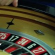 Stock Video: Mplaying roulette