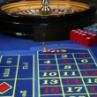 Winning at roulette in casino — Stockvideo