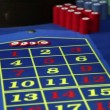 Winning at roulette in casino — Stock Video