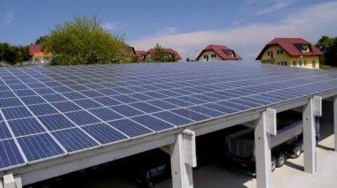 Solar moduls — Stock Video