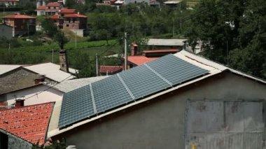 Solar panels — Stock Video