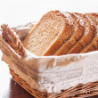 Bread in basket — Stock Photo #26380547
