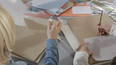 Dzieci rysunek — Wideo stockowe
