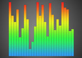 Equalizer background — Stock Photo