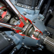 Piston Engine Detail — Stock Photo