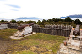 Fort Bulnes on Southermost Tip of Chile — Stock Photo