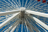 Ferris Wheel at the Navy Pier in Chicago — Стоковое фото