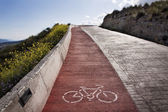 Paseo en bicicleta en exteriores — Foto de Stock