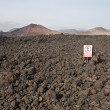 Stock Photo: Volcanic mountains, TimanfayNational Park in Lanzarote Island