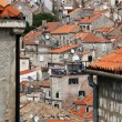Roofs of old town Dubrovnik, Croatia — Stock Photo