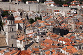 Roofs of old town Dubrovnik, Croatia — Stock fotografie