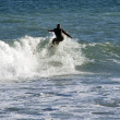 A man practising Surf — Stock Photo