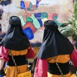 Moors and Christians festival Alcoy, Spain — Stock Photo