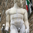 Detail of statue Neptuno in Piazza della Signoria, Italy — Stock Photo