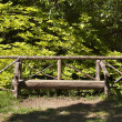 Bench in green park — Stock Photo #29692083
