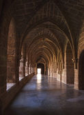Cloister of Monasterio de Piedra in Zaragoza, Spain — Foto Stock