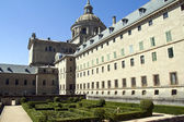 Garden in Monastery Escorial at San Lorenzo near Madrid Spain — Stockfoto