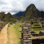 View of the archeological site Machu Picchu, Cuzco, Peru, seven — Stock Photo