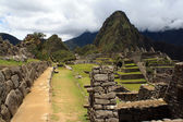 View of the archeological site Machu Picchu, Cuzco, Peru, seven — Stock Photo