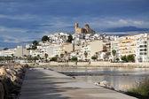View of touristic village in Spain, Altea — Stock Photo