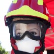 Manikin of Firefighter — Stock Photo #35127917