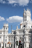 The City Hall of Madrid or the former Palace of Communications,  — Stockfoto