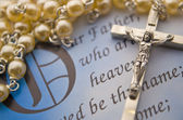 Rosary beads — Stock Photo
