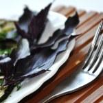 Fried zucchini — Stock Photo