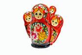 Ryska häckande dolls — Stockfoto