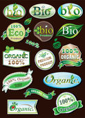 Labels Collection — Stock Vector