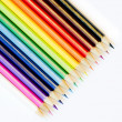 Colouring crayons — Stock Photo
