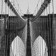 brooklyn bridge new york city — Stock Photo