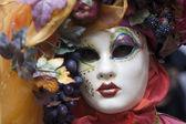 Venetiansk mask — Stockfoto