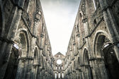 San Galgano Cathedral — Stock Photo