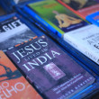 The book Jesus Lived in India — Stock Photo