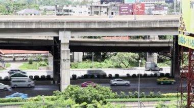 Bangkok car traffic — Stock Video