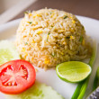 Fired rice with crab — Stock Photo