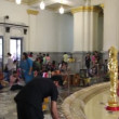 ChaChengChao, Thailand - December 2013 : Many tourists go to temple (Wat So Thon, Big Golden Buddha) before new year comimg to get good luck — Stock Video #40137715