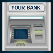 Vector ATM — Stock Vector