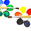 Poster paint tray — Stockfoto