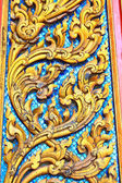 Traditional Thai style art pattern — Stock fotografie