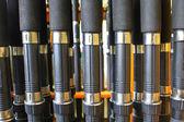 Many Fishing rod — Stock Photo
