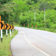 Road Signs warn Drivers for Ahead Dangerous Curve — Stock Photo #34197619