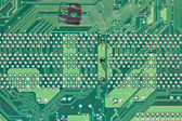 Abstract background with old computer circuit board — Stock Photo