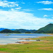 Views over reservoir Kaengkrachdam — Stock Photo #35769519