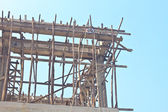 Close up detail construction — Stockfoto