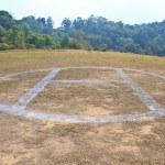 área de pouso de helicóptero — Foto Stock