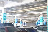 Parkeergarage — Stockfoto