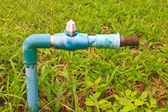 Eski ve paslı musluk — Stok fotoğraf